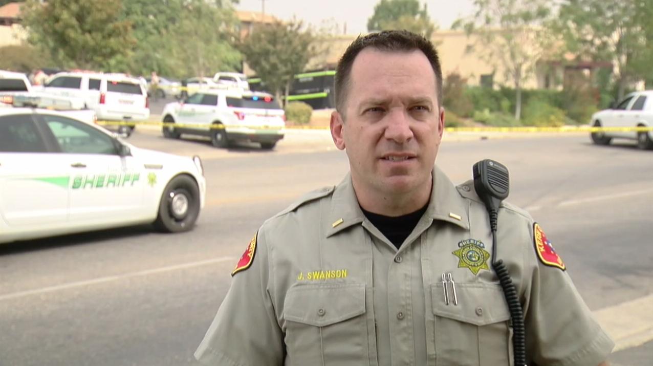 Lt. Joel Swanson of the Kern County Sheriff's Office