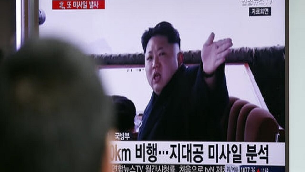 Report: North Korea fires missle into sea