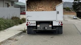 Wood chipper ahead of fire season