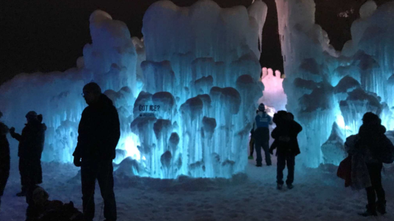 Ice Castles moving to Geneva National Golf Course
