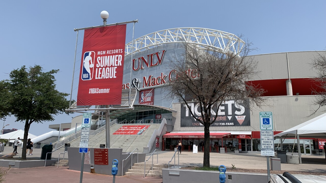 Basketball fans happy to have NBA Summer League back in Las Vegas