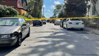 Harvard Avenue crime scene