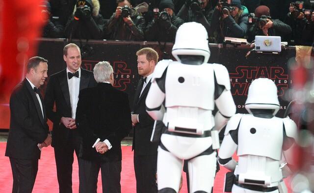 'Star Wars: The Last Jedi' premieres in London