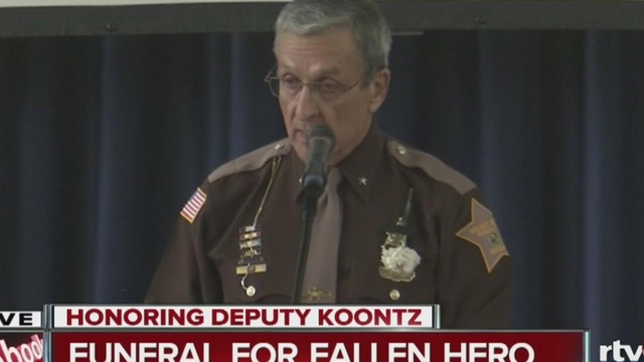 PHOTOS: Deputy Carl Koontz's funeral