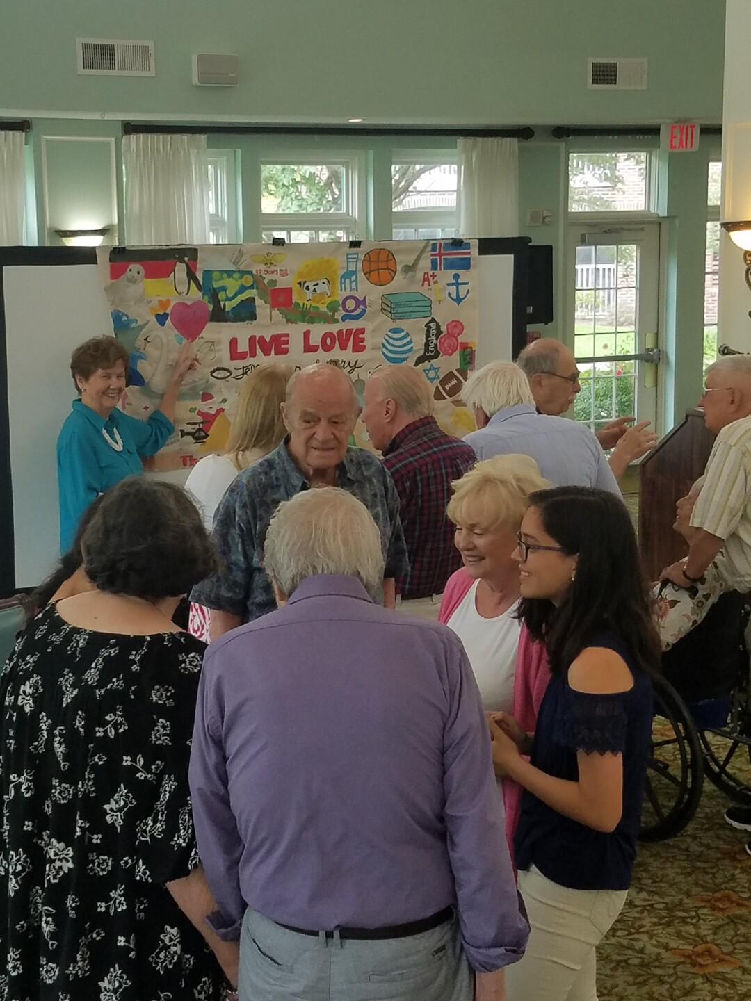 Photos: Seniors at Virginia Beach retirement community see their stories come to life through students' artwork