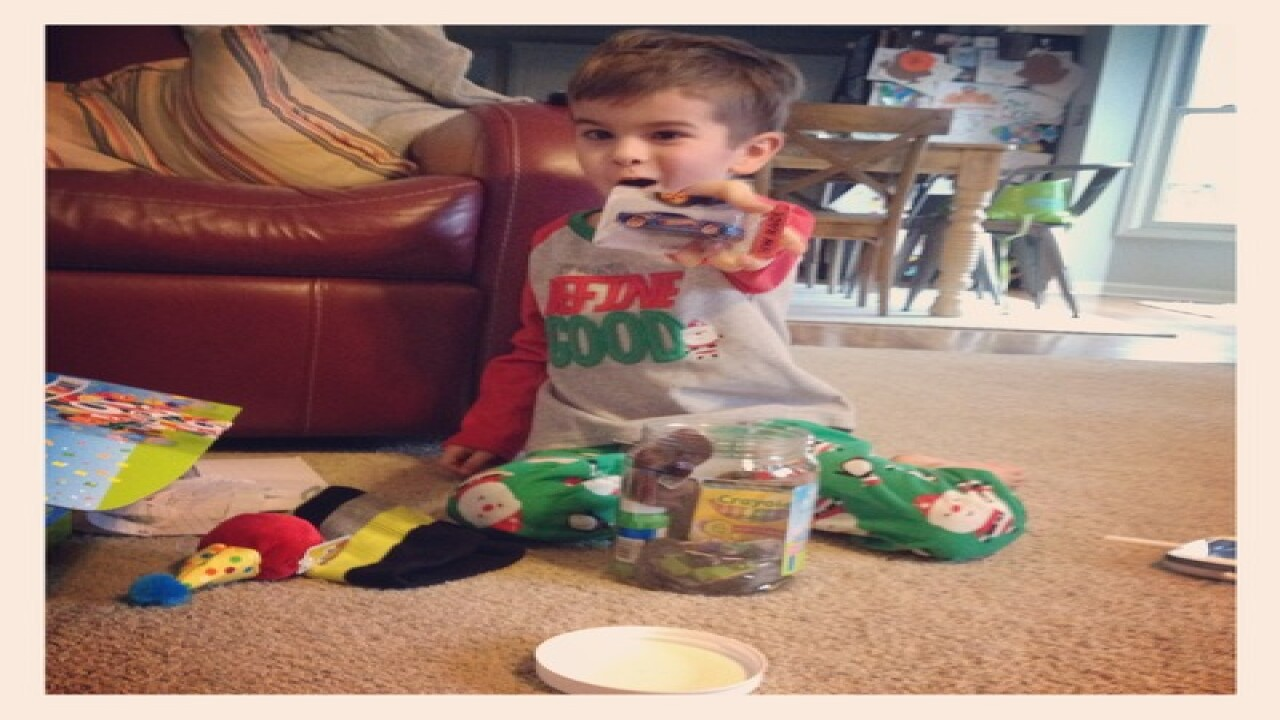 Carm mom honors son by hiding toys around town