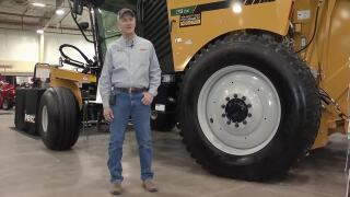 Montana Ag Network: New self-propelled round baler debuts at MATE