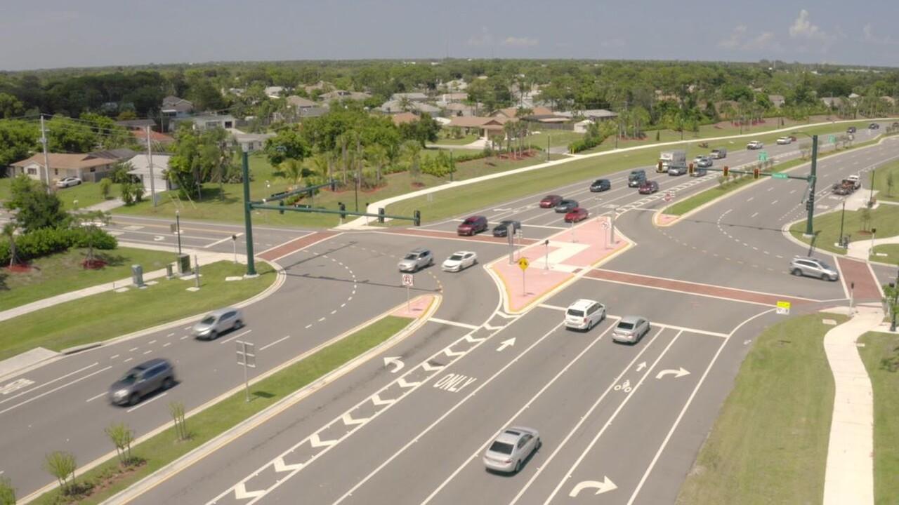 Crosstown Parkway in Port St. Lucie