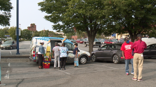 Helping with back to school in West Baltimore