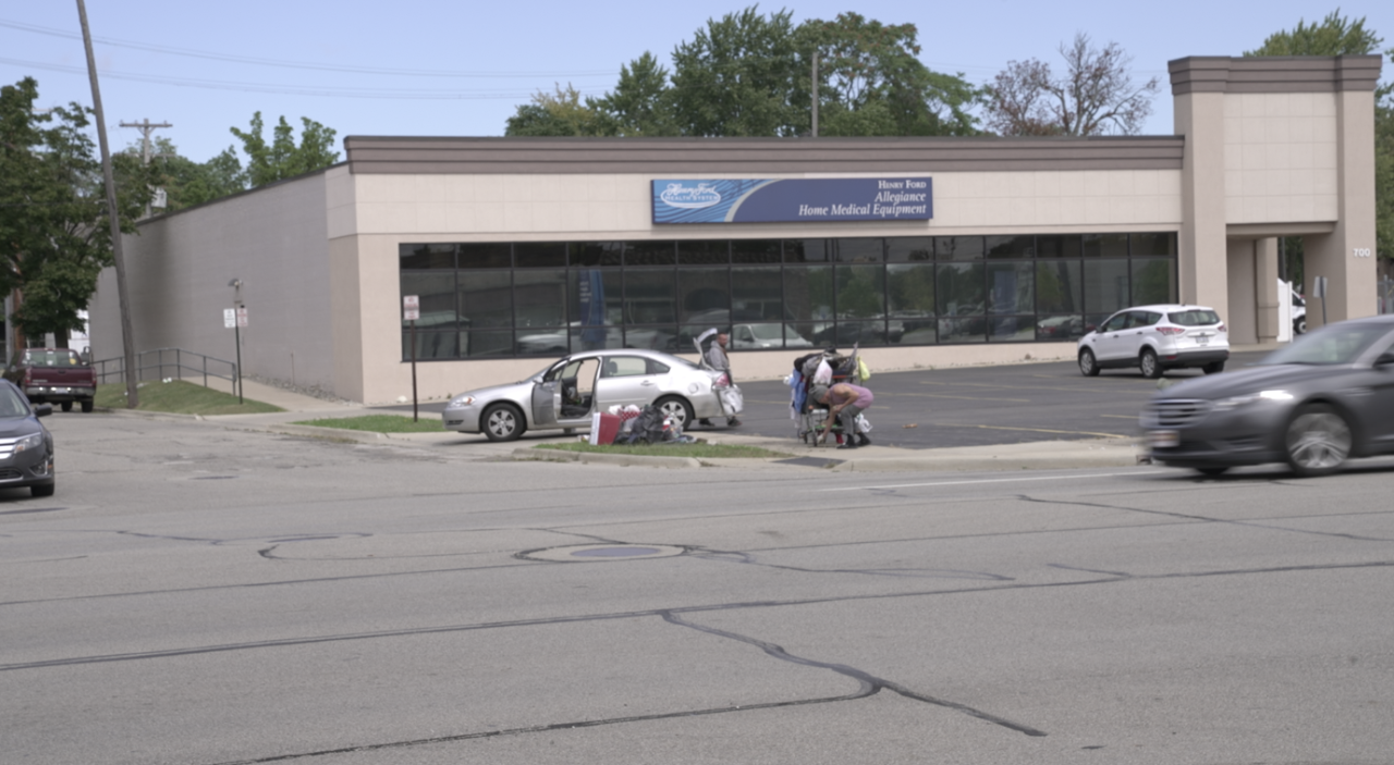 Homeless in Jackson