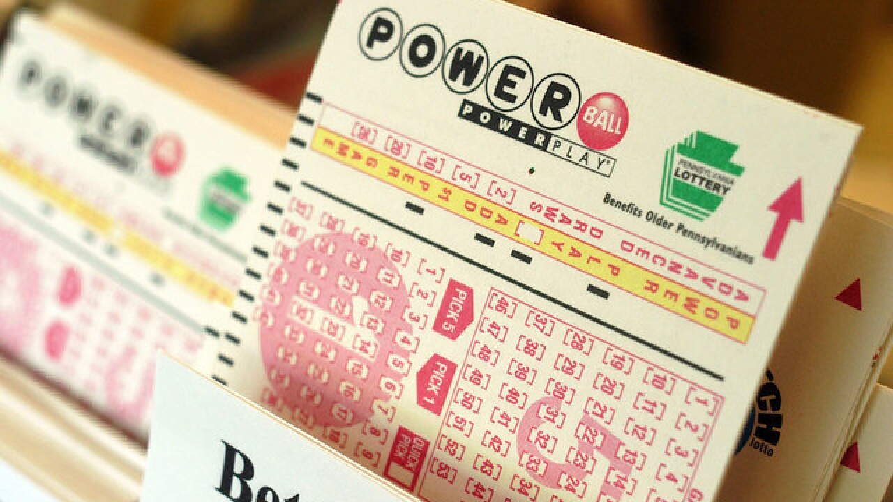 2 winners will split the $687 million Powerball jackpot
