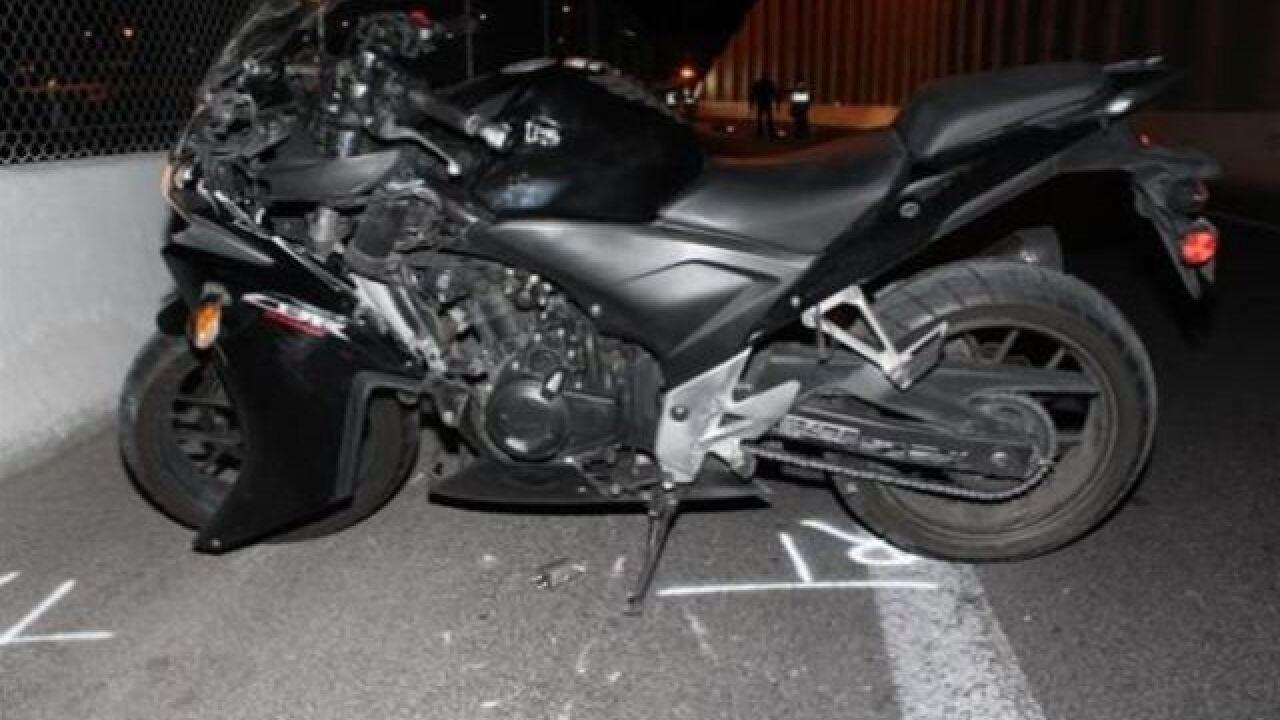Motorcyclist dies in crash near 95, Flamingo