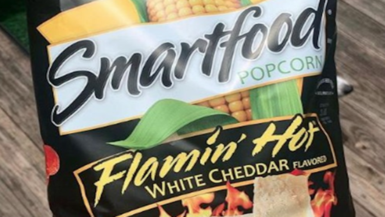 You Can Now Buy Flamin' Hot White Cheddar Popcorn