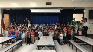 Career Day at Crockett Elementary School