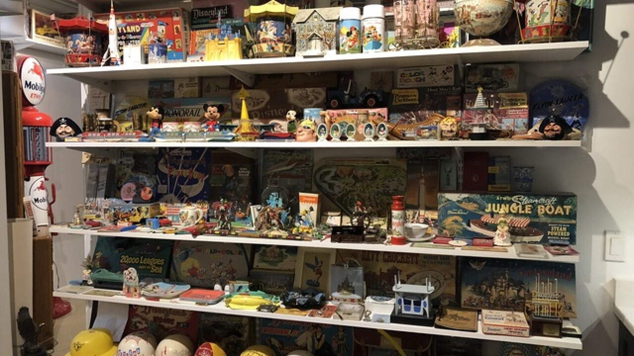 Local man has largest Disney park collection