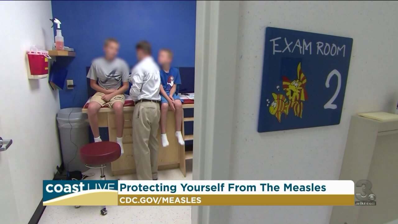 Facts on the measles outbreak and how to protect your family on Coast Live