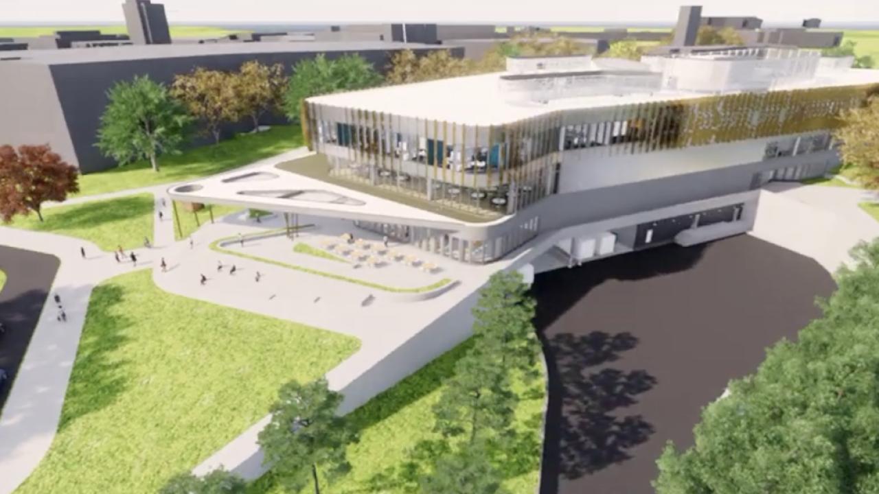 New WMU Student Center
