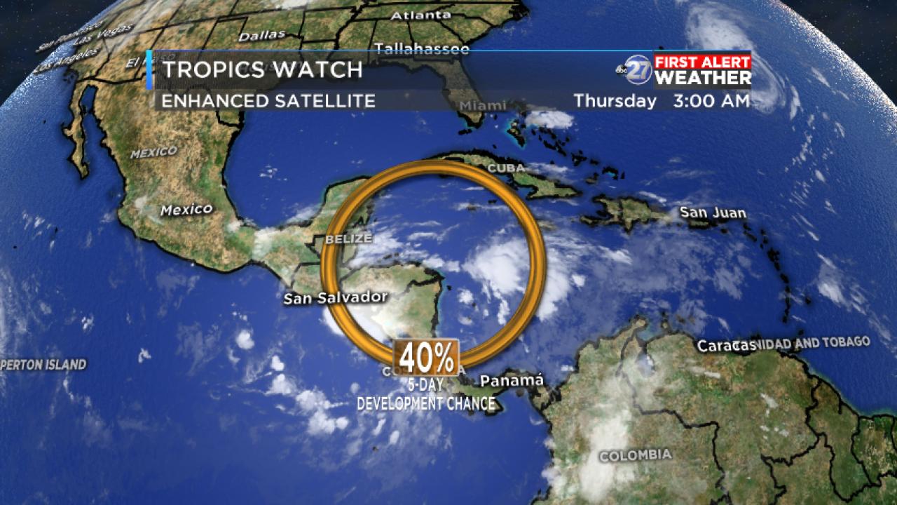 Caribbean Sea disturbance (10/04/18)