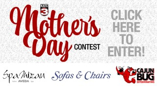 Enter KATC's 2021 Mother's Day Sweepstakes