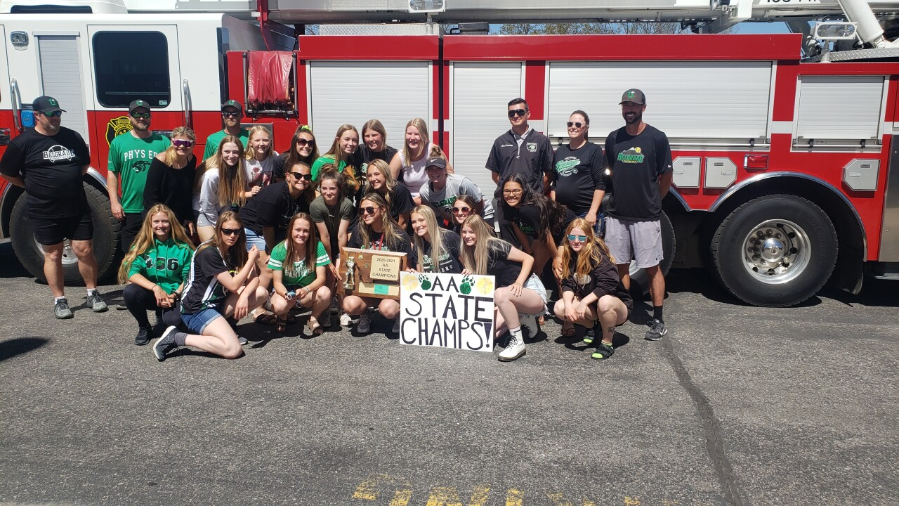 Belgrade Panthers hold championship parade; Joey Roberts wins AA Coach of the Year