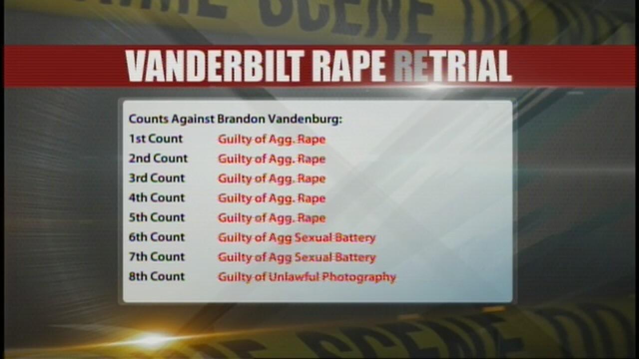 Brandon Vandenburg Found Guilty On All Counts
