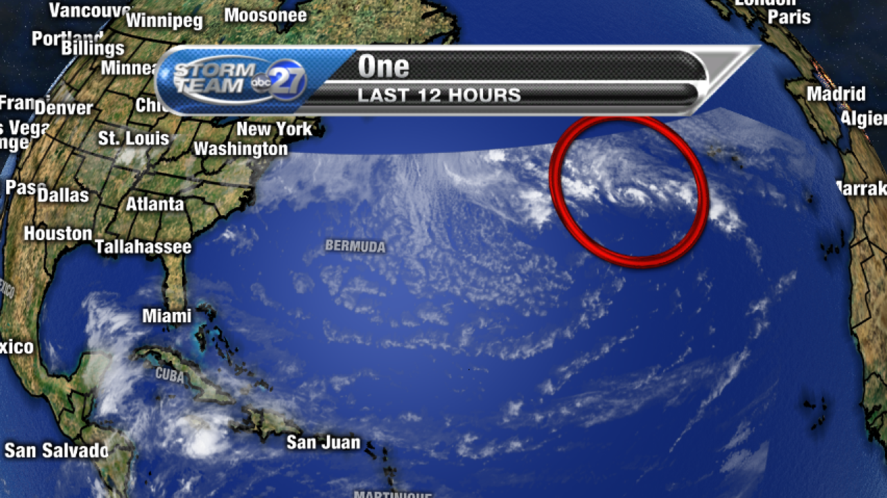 Update: Subtropical Depression One continues to struggle