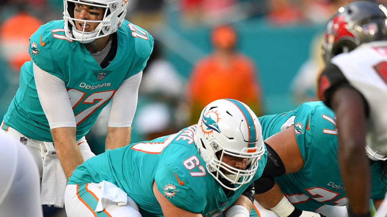 Dolphins lose to Buccaneers 26-24 in first preseason game