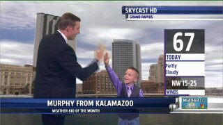 September Weather Kid of the Month: Murphy!