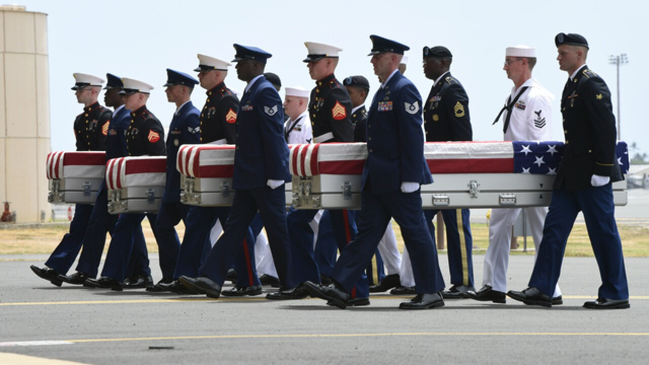 Funerals set for 2 recently identified Korean War soldiers