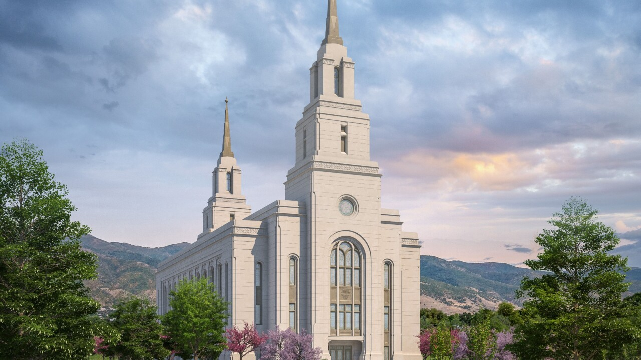 Latter-day Saint Church releases rendering of Layton temple