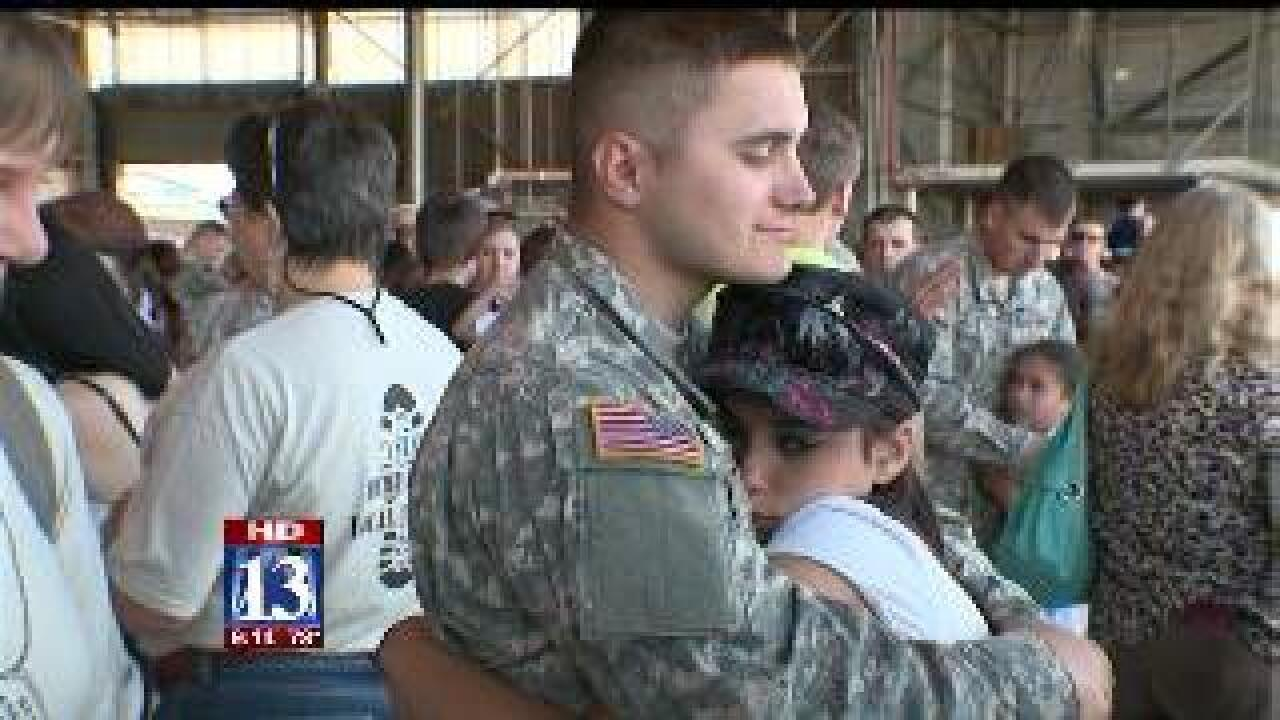 National Guard members leaving for Afghanistan
