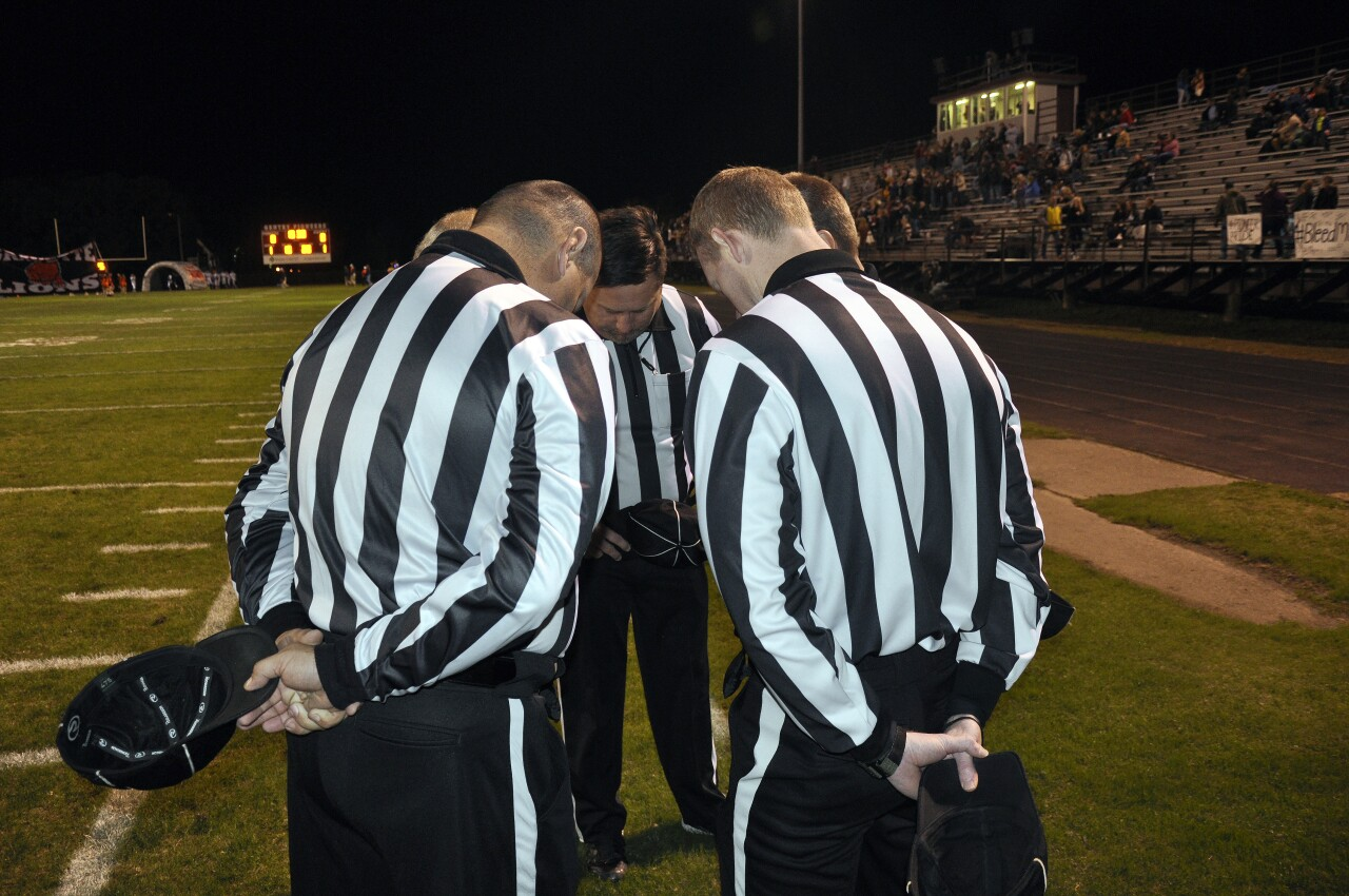 Address the ongoing officials shortage
