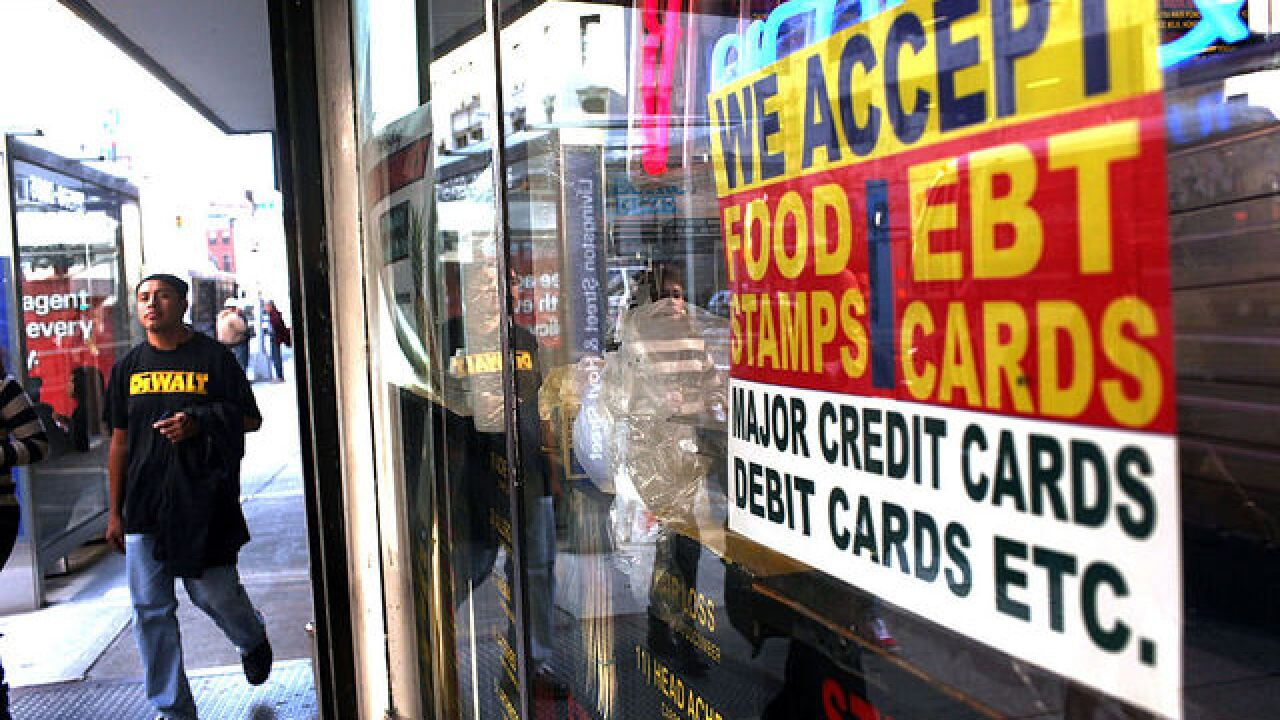 Trump plan would allow drug testing for some food stamp recipients