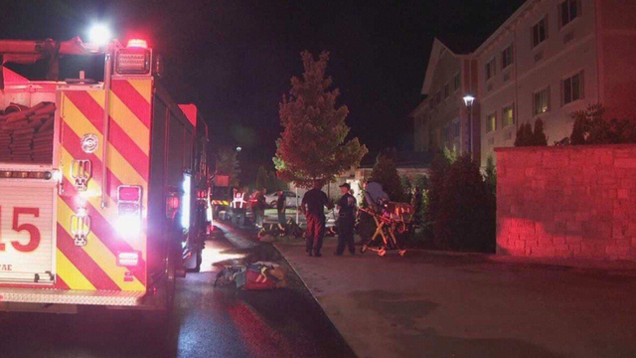 1 Hospitalized After 2-Alarm Fire At Assisted Living Facility