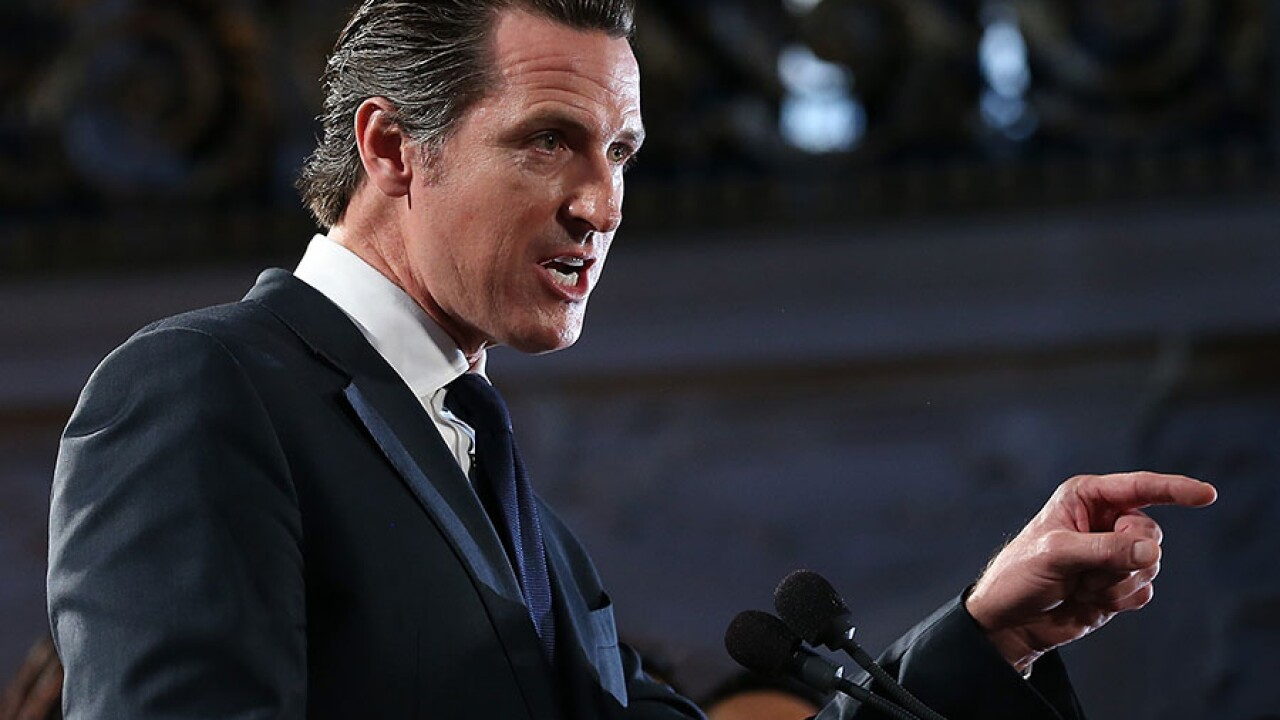 Gavin Newsom speech file