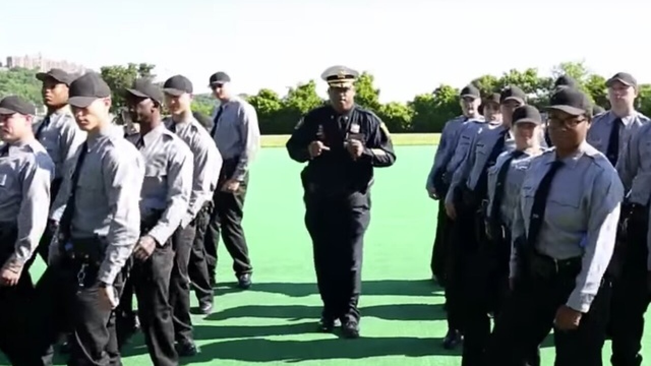 CPD's Running Man Challenge video