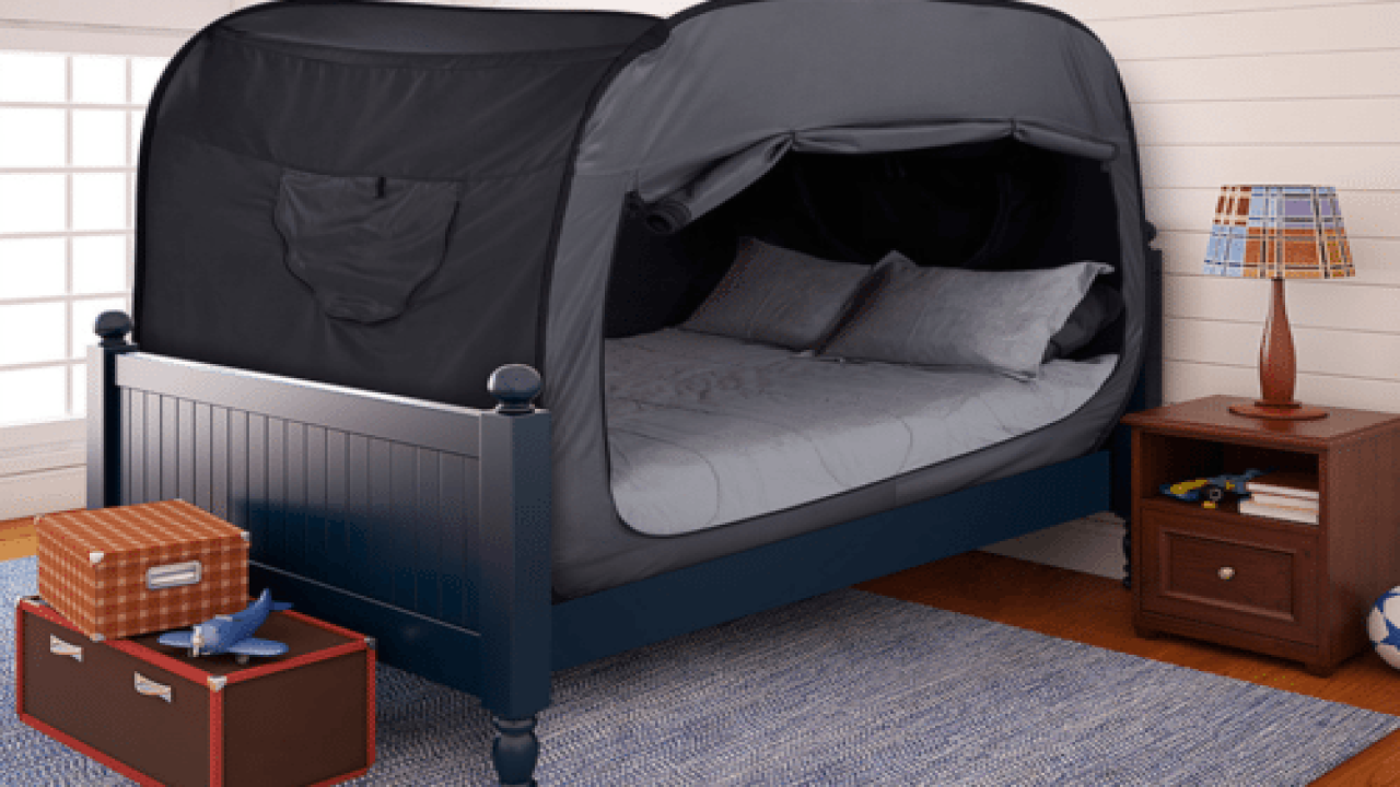 This Bed Tent Is A Genius Way To Get A Better Night's Sleep