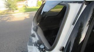 Laurel car windows smashed