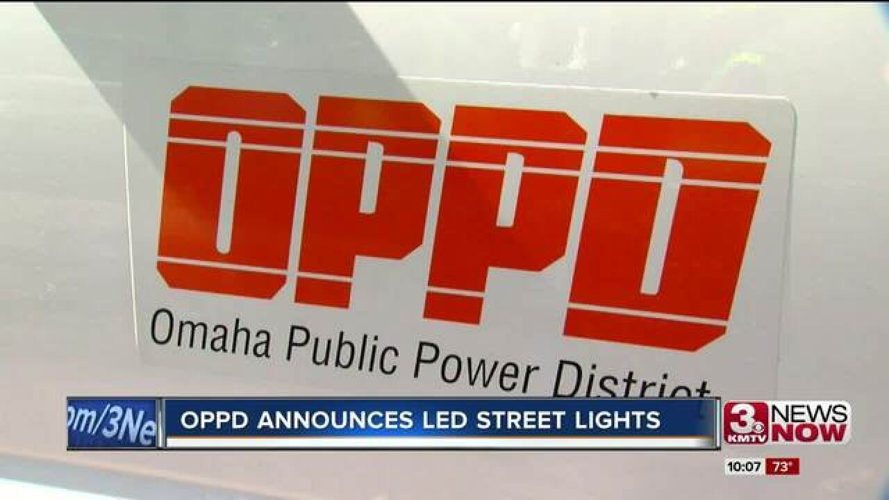 OPPD upgrading street lights with LEDs