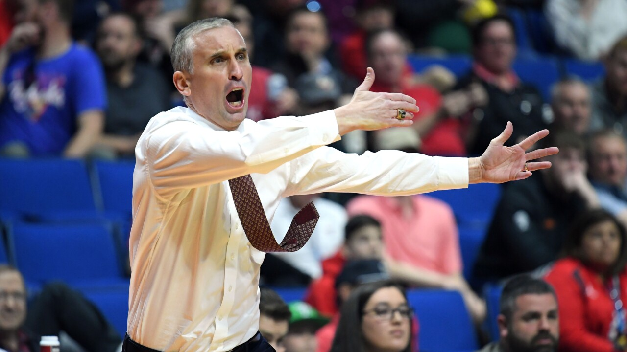 82c41bb6c422 NCAA Tournament  Frustration for Bobby Hurley