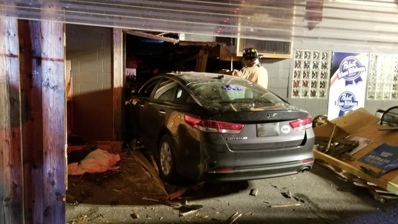 Patron: Crash into sports bar was intentional