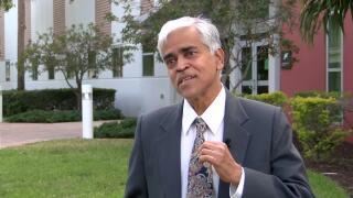 Dr. Sankaranarayana Chandramohan, professor at Palm Beach State College