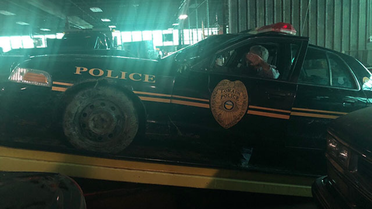 Suspect stole Lorain PD cruiser, led chase
