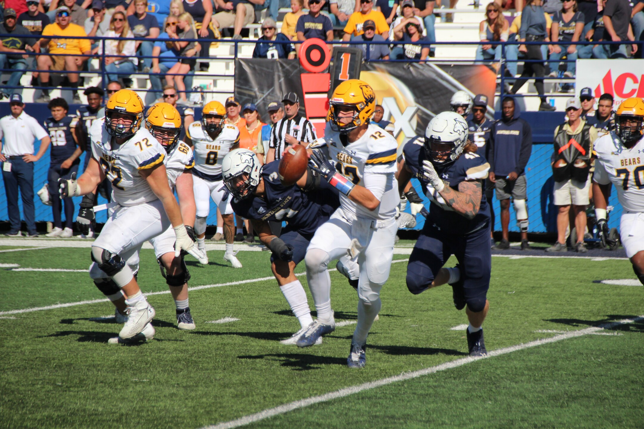 Chase Benson chases down McCaffery