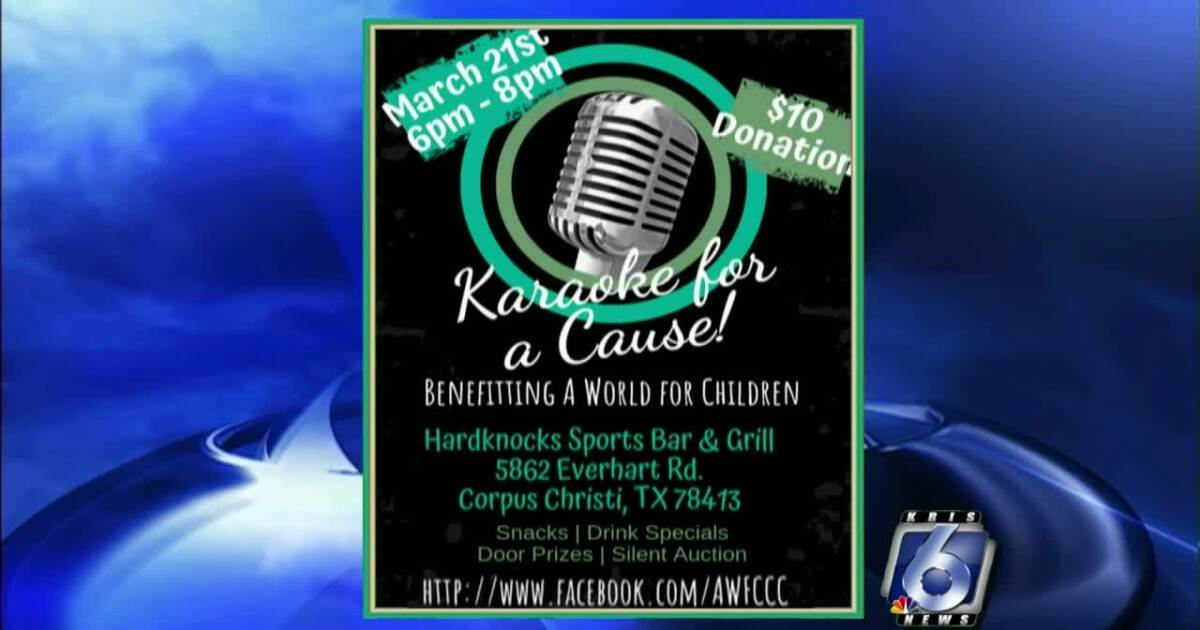 A World of Children Karaoke for a Cause benefit set for Thursday