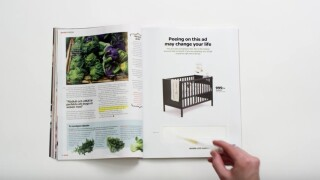 IKEA ad requires pregnant women to urinate for a discount