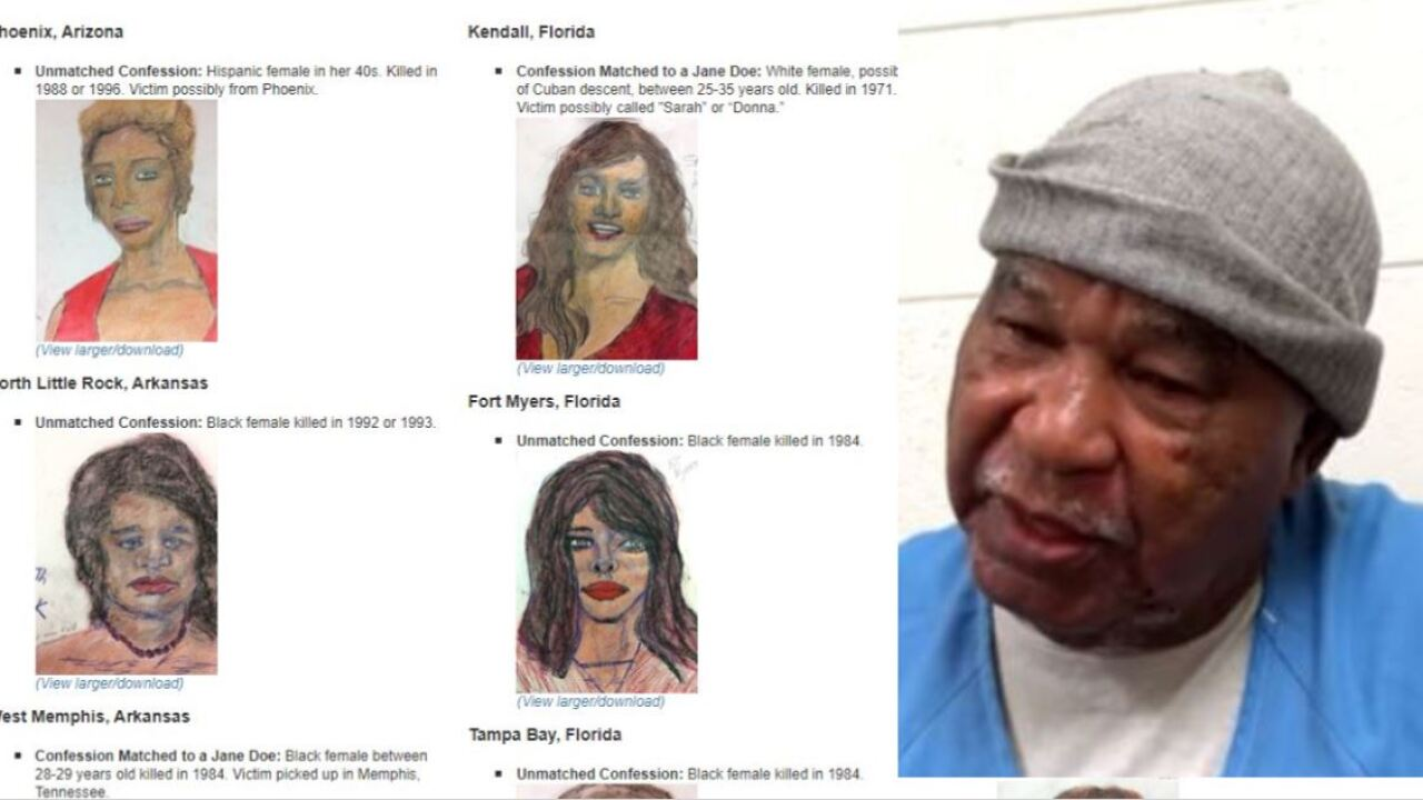 FBI seeks assistance connecting victims to prolific serial killer Samuel Little's confessions