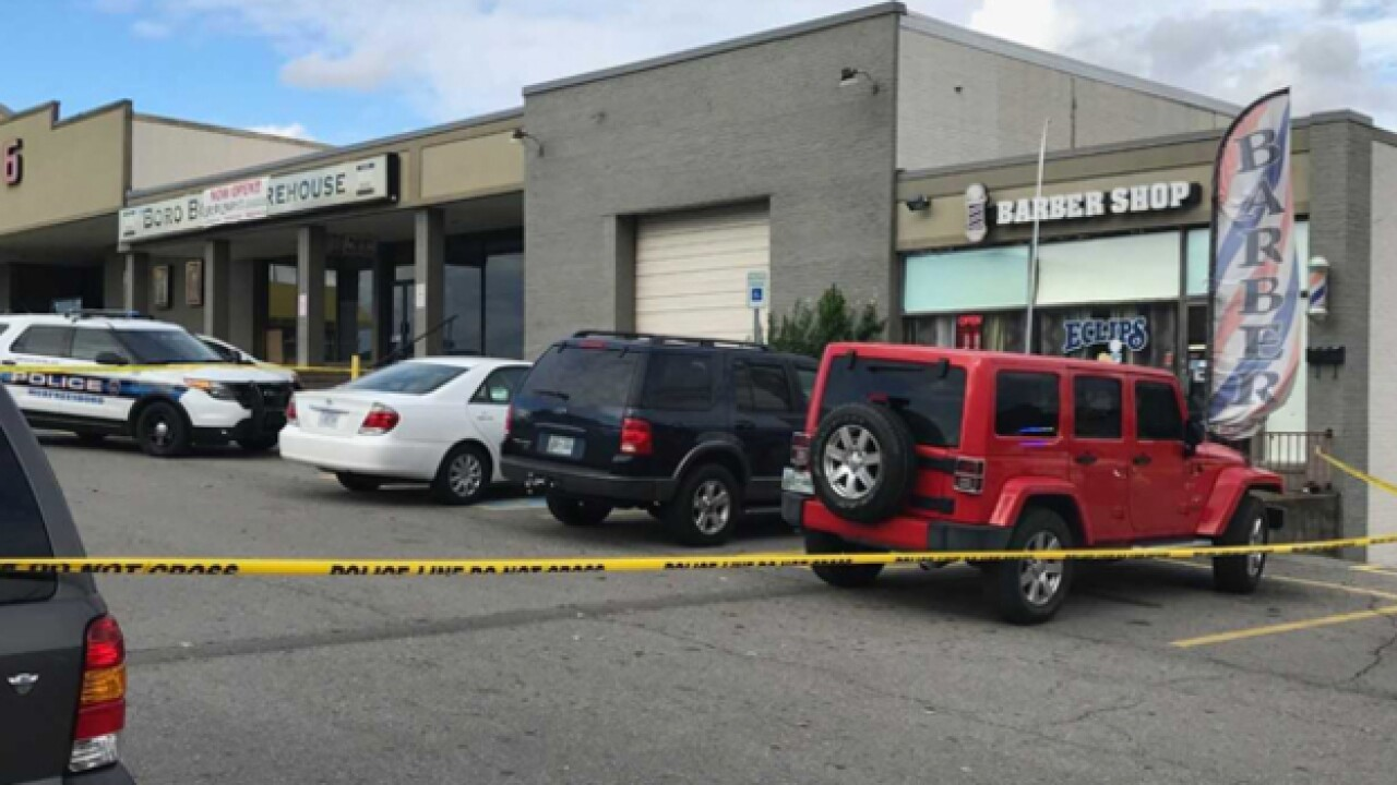 Suspect turns himself in after shooting at Murfreesboro barber shop