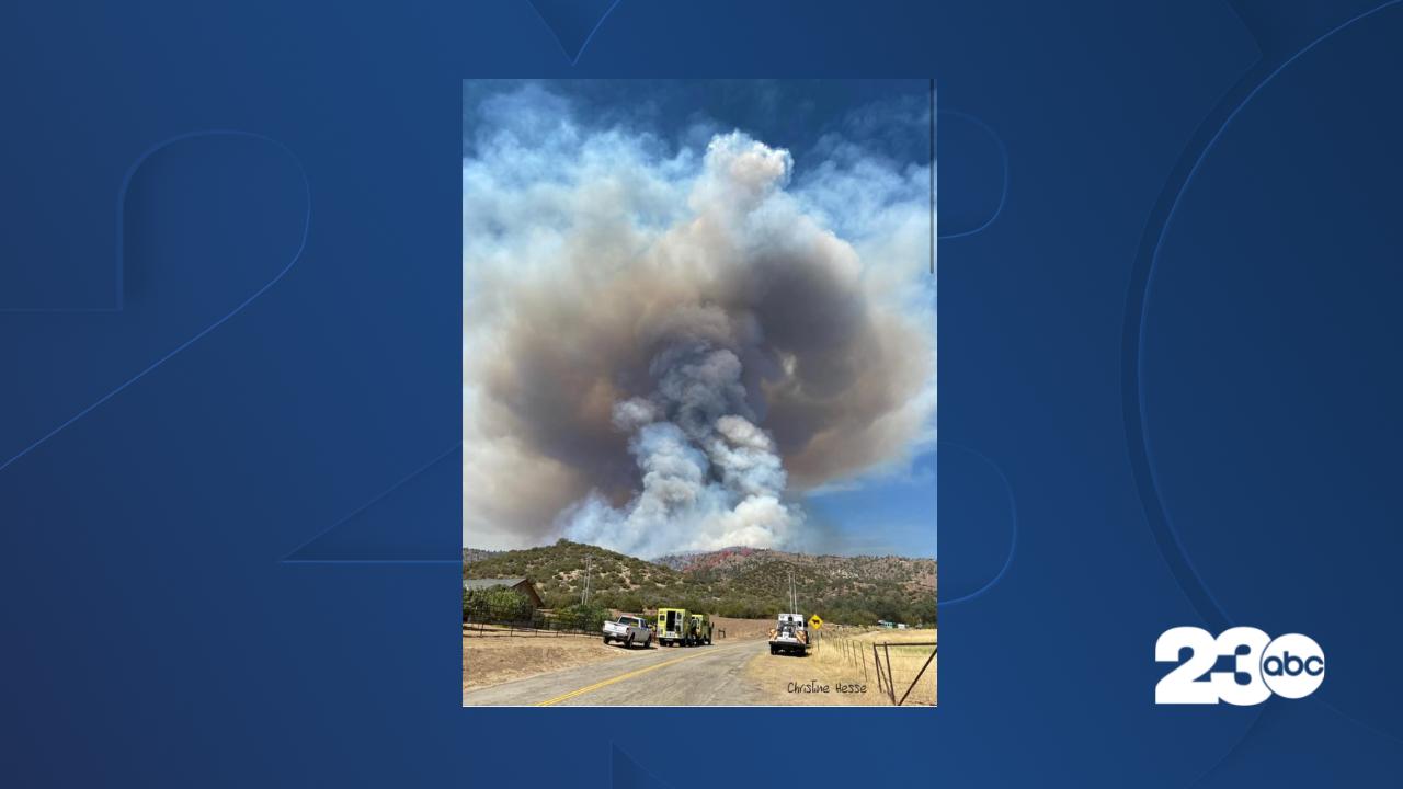 Peak Fire, Lake Isabella, July 20, 2021