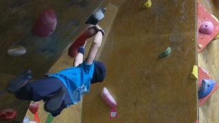 Rock climbers make history at divisional championship